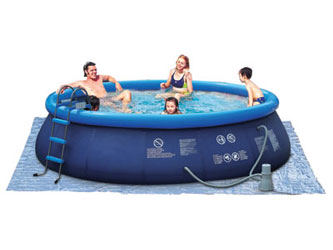 Easy 8ft Children's Inflatable Swimming Pools