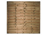Devon Flat Continental Garden Fence Panels