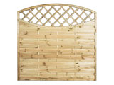 Sussex Oval Continental Garden Fence Panels