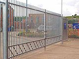 Barbican Imperial Security Commercial Swing Entrance Gates