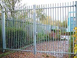 Barbican Insta-Gate Security Commercial Swing Entrance Gates