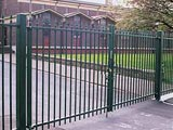 Barbican Security Commercial Swing Entrance Gates