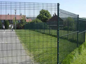 Optima Security Perimeter & Boundary Commercial Fence