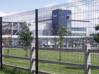 VGuard Security Perimeter & Boundary Commercial Fence