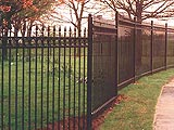 Sentry Ornamental Security Perimeter & Boundary Commercial Fence