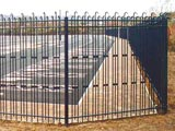 Sentry Tri-Guard Security Perimeter & Boundary Commercial Fence