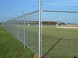 Tubular Security Perimeter & Boundary Commercial Fence