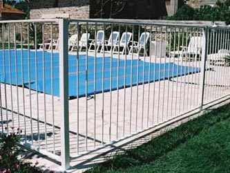 Ocean Pool Sports Commercial Fence