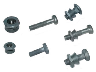 Steel Palisade Commercial Fence Fixings