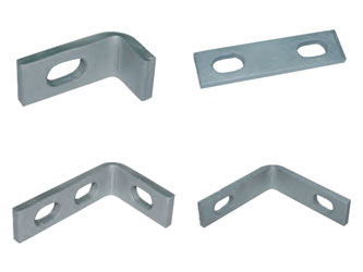 Steel Palisade Commercial Fence Link Plates