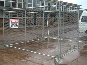 Temporary Commercial Fencing