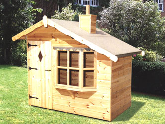 Children's Playhouses: Wemyss Bay Wendy House