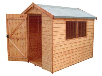 London Trade Apex Garden Sheds