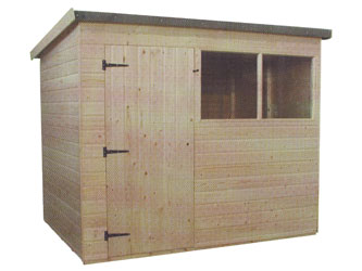 London Trade Pent Garden Sheds