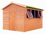 Cedar Addington Apex Garden Sheds