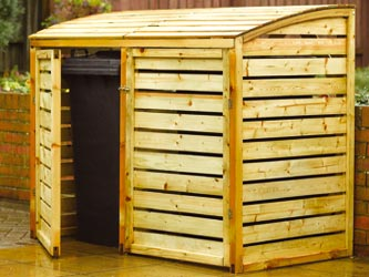 Double Bin Store Garden Storage Units