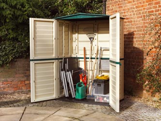 Plastic Tall Store Garden Storage Units