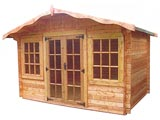 Lugano Deluxe Log Cabins