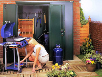 Classic Steel Garden Sheds