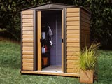 Woodvale Metal Garden Sheds