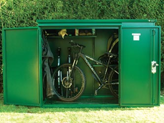 & Addition Steel Garden Storage Units