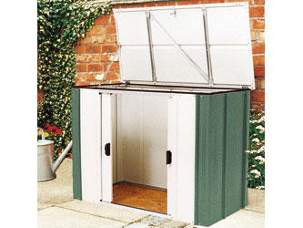 Metal Storette Garden Storage Units