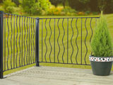Ripple Metal Garden Decking Panels
