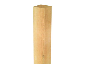 94mm x 94mm Timber Garden Decking Newel Posts
