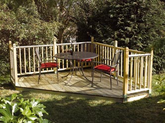 These Versatile Deck Kits Allows Any Competant DIY Enthusiast To Create An Instant  Patio To Their Own Design In ...