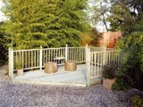 Timber Garden Decking & Balustrade Extension Kit