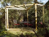 Timber Garden Decking & Pergola Kit
