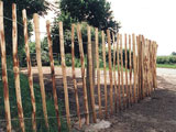 15 Foot Chestnut Garden Fence Rolls