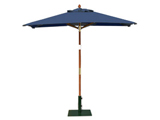 Square 2.0m Garden Table Parasols Blue