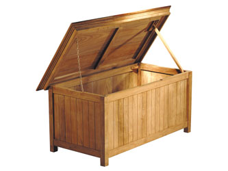 Extra Large Teak Storage Box