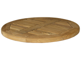 Large Teak Lazy Susan