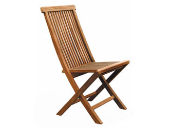 Ashdown Teak Garden Folding Chairs