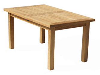 Balmoral Teak 1.5m Rectangular Garden Tables