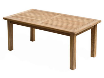 Balmoral Teak 1.8m Rectangular Garden Tables