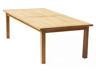 Balmoral Teak 2.5m Rectangular Garden Tables