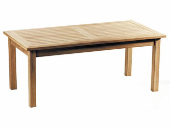 Hilgrove Teak 1.2m Garden Coffee Tables