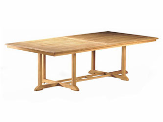 Hilgrove Teak 2.6m Rectangular Garden Tables