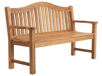 Mayfair Westminster Teak 4ft Garden Benches