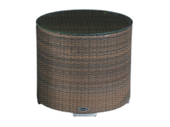 Harmony Westminster Woven Garden Side Tables Sand