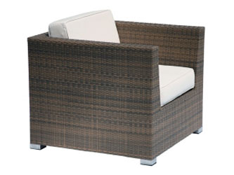 Madrid Westminster Woven Armchair Sand