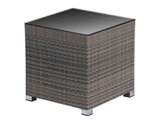 Madrid Westminster Woven Side Table Sand