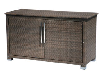 Madrid Westminster Woven Storage Chest Sand