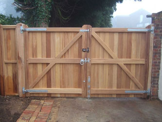 Wooden Driveway Gates Designs Ranch Fence Gate Ideas