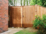 Waveney Feather Edge Driveway Gates