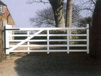 Kent Iroko Hardwood Farm & Field Gates