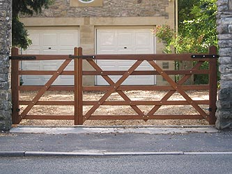 Somerset Iroko Hardwood Farm & Field Gates